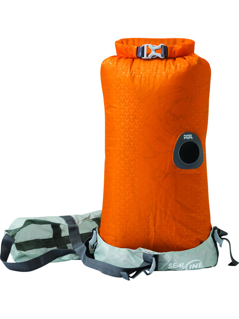 SealLine Blocker Compress - Para tener el equipaje ordenado - 10l naranja